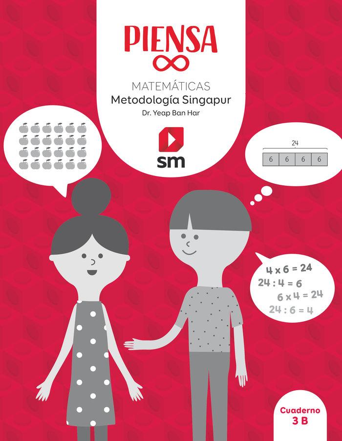 Matematicas 3ºep pack singapur 20 piensa infinito