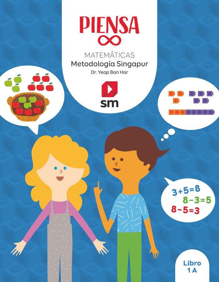 Matematicas 1ºep singapur 20 piensa infinito