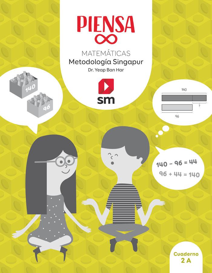 Cuaderno matematicas 2ºep singapur 20 piensa infin