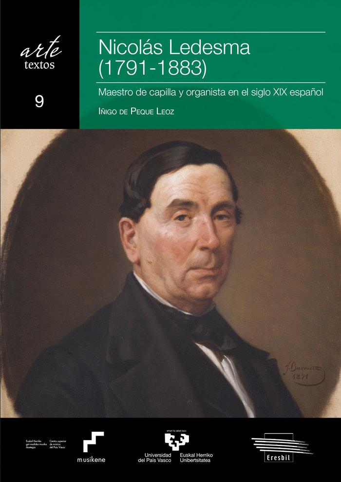 Nicolas ledesma 1791 1883 maestro de ca