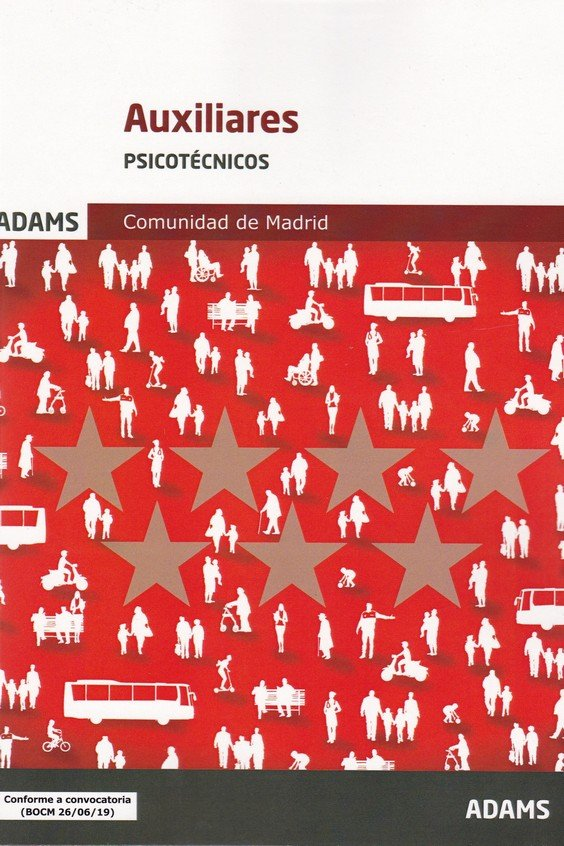 Psicotecnicos auxiliares de la comunidad de madrid
