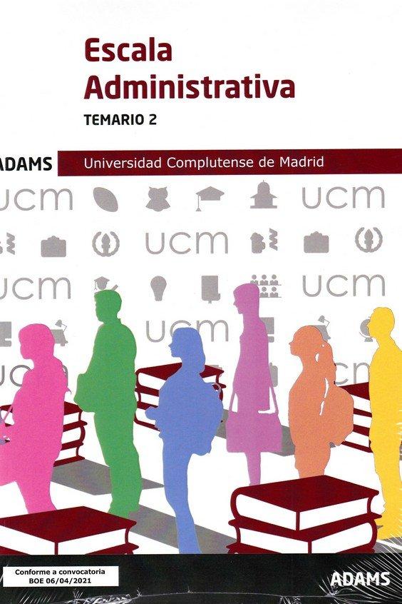 Escala administrativa temario 2 univ complutense de madrid