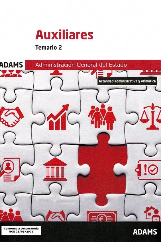 Temario ii auxiliares adminstracion general estado
