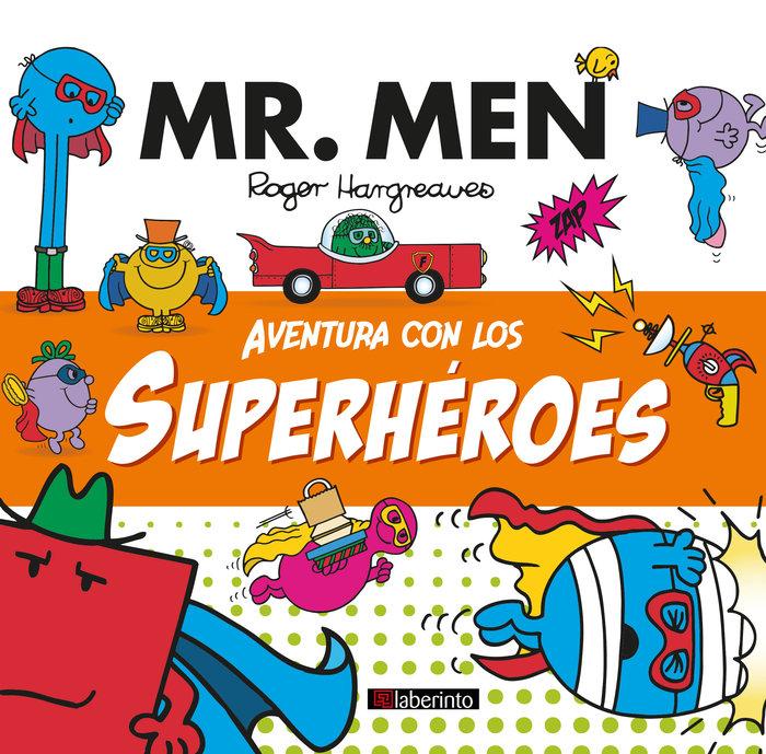 Aventura con los superheroes mr men