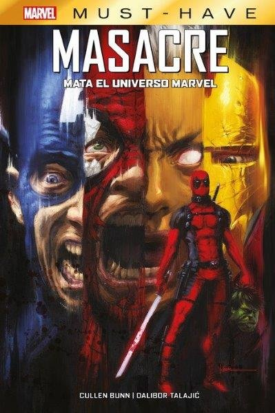 Marvel must have masacre mata el universo marvel