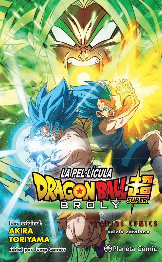 Bola de drac super broly anime comic catal