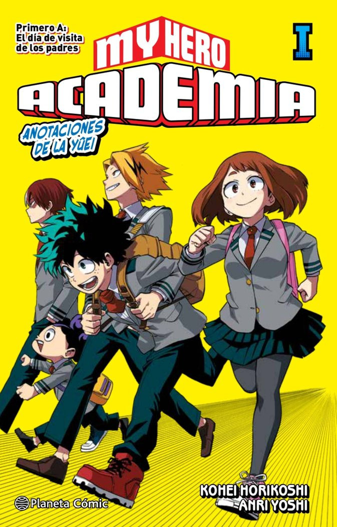 My hero academia 1 novela