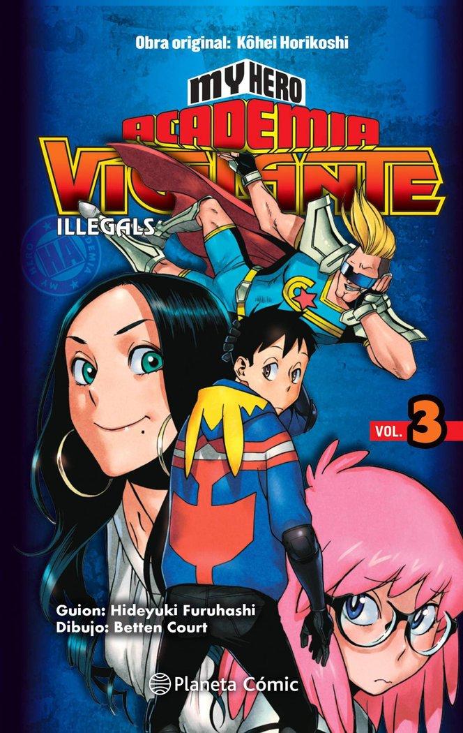 My hero academia vigilante illegals 3