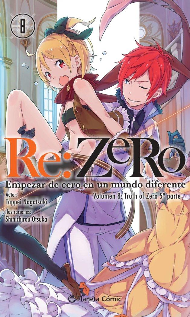 Re zero 8 novela