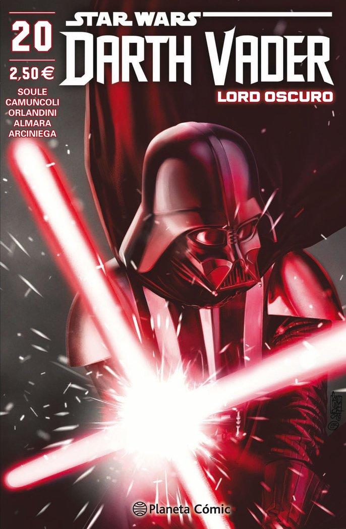 Star wars darth vader lord oscuro nº 20/25