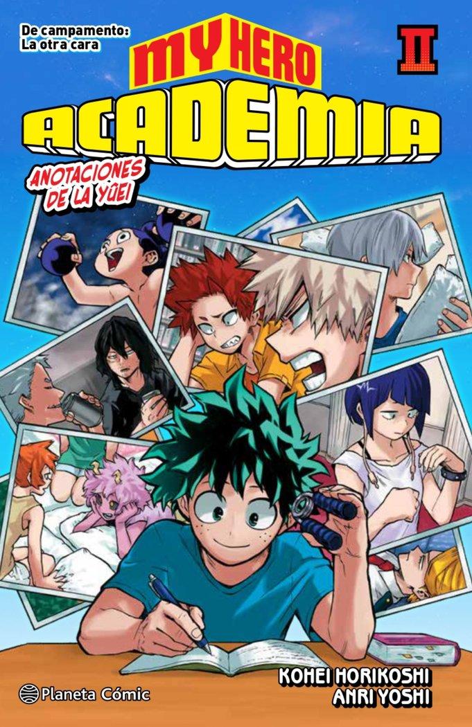 My hero academia 2 novela