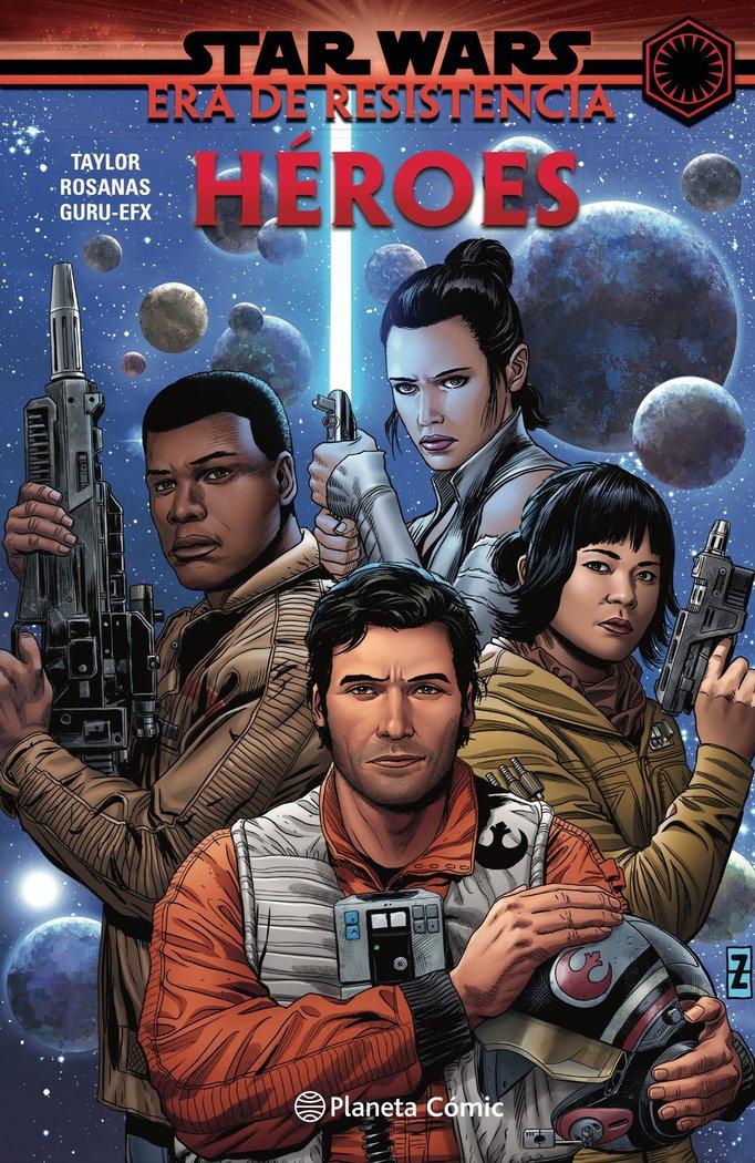Star wars era de la resistencia heroes t