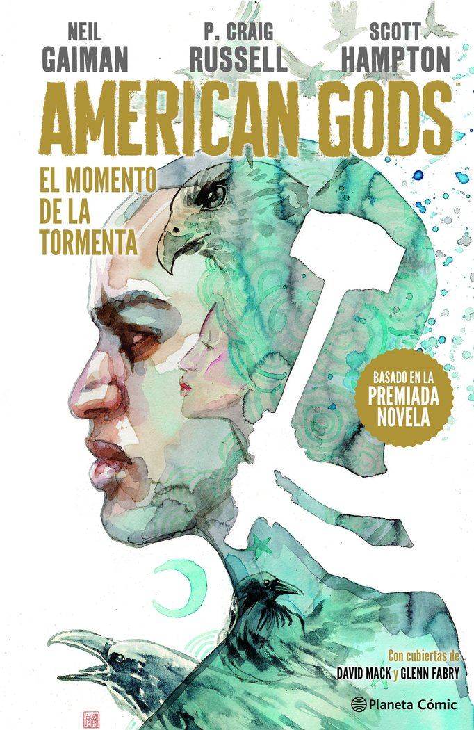 American gods sombras tomo 3