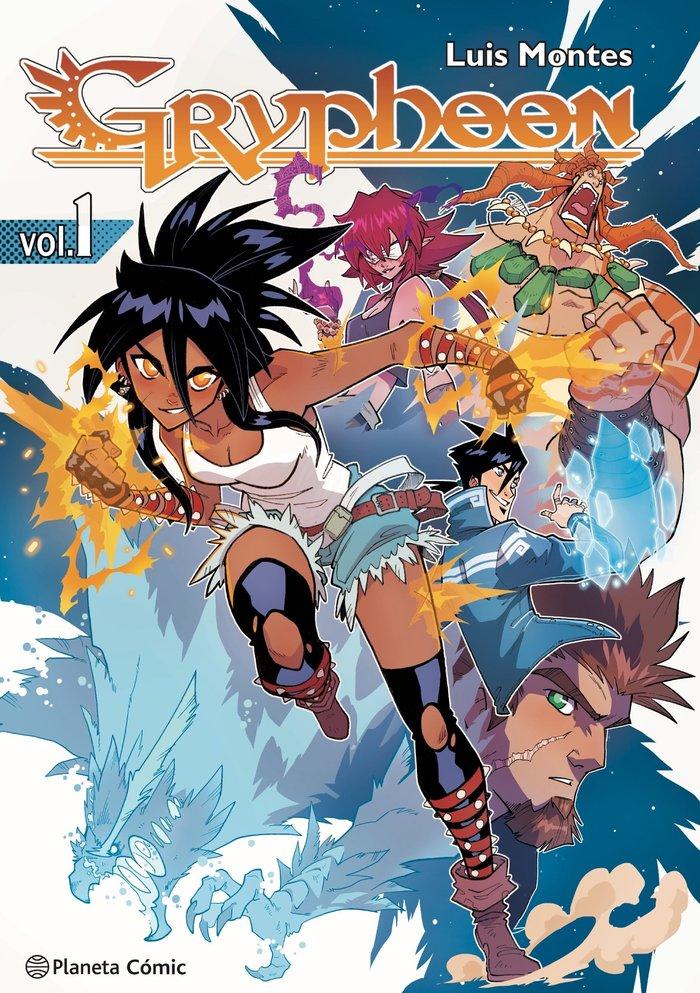 Planeta manga gryphoon 1