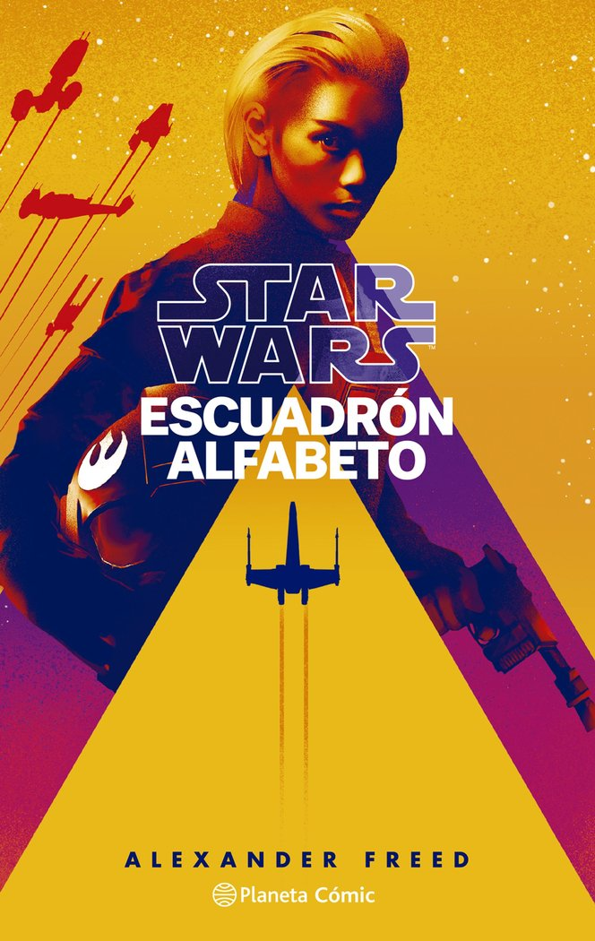 Star wars escuadron alfabeto novela