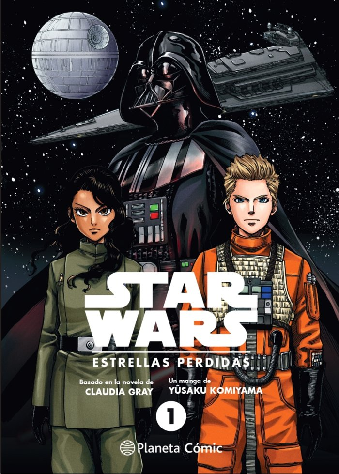 Star wars estrellas perdidas 1 manga