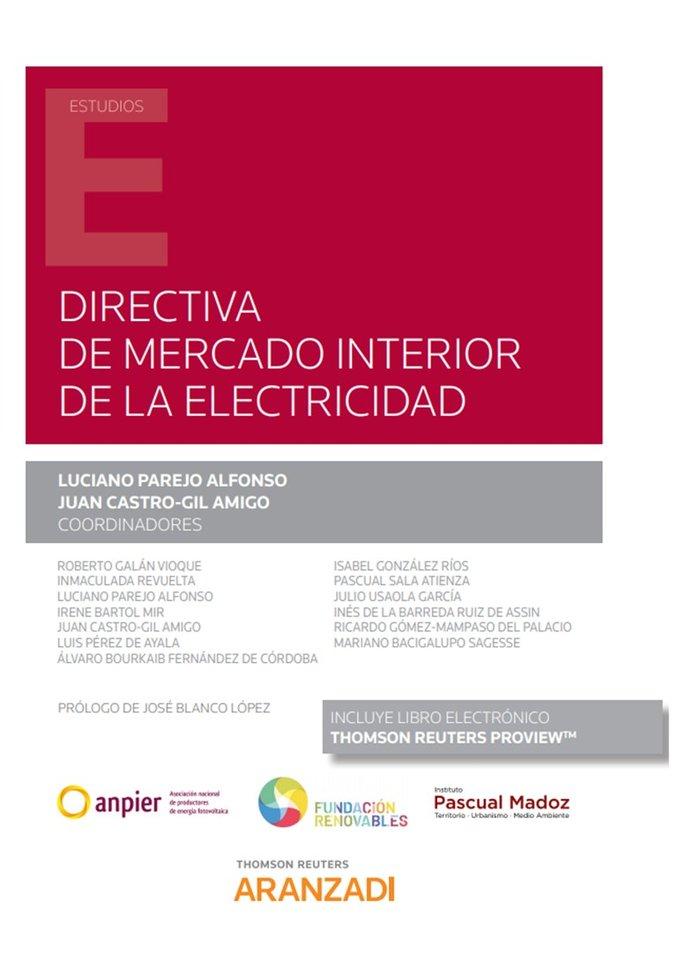 Directiva de mercado interior de la electricidad duo