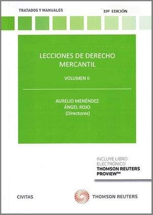 Lecciones de derecho mercantil vol.ii