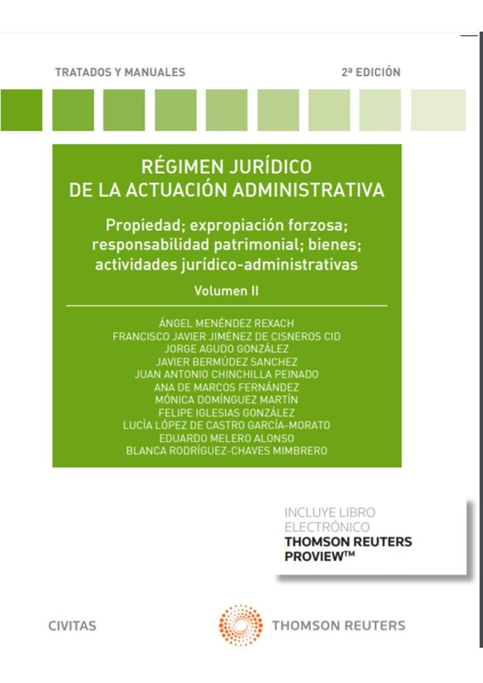 Regimen juridico de la actuacion administrativa vol.ii