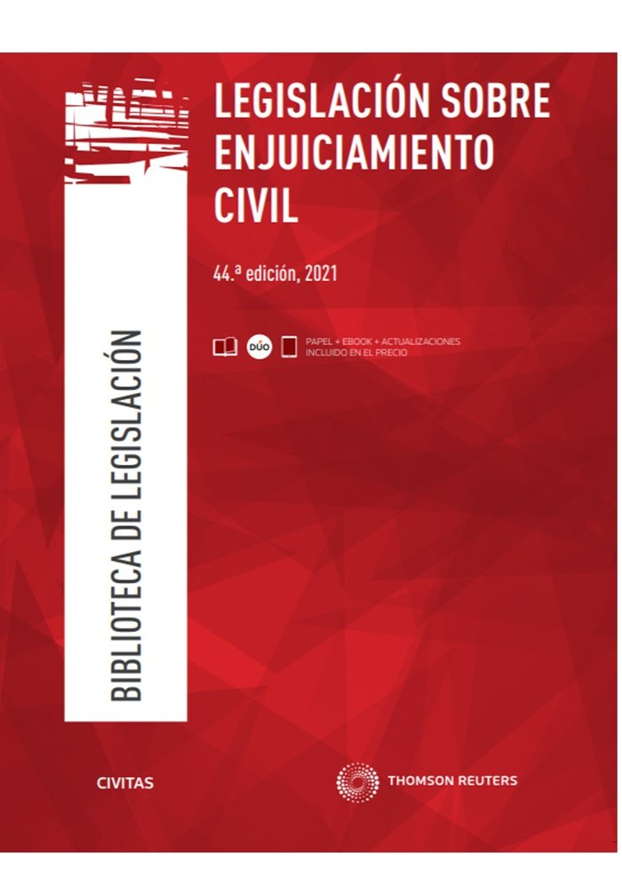 Legislacion sobre enjuiciamiento civil