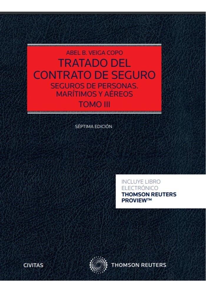 Tratado del contrato de seguro tomo iii