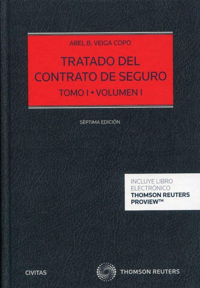 Tratado del contrato de seguro tomo 1 volumen 1 y 2 duo