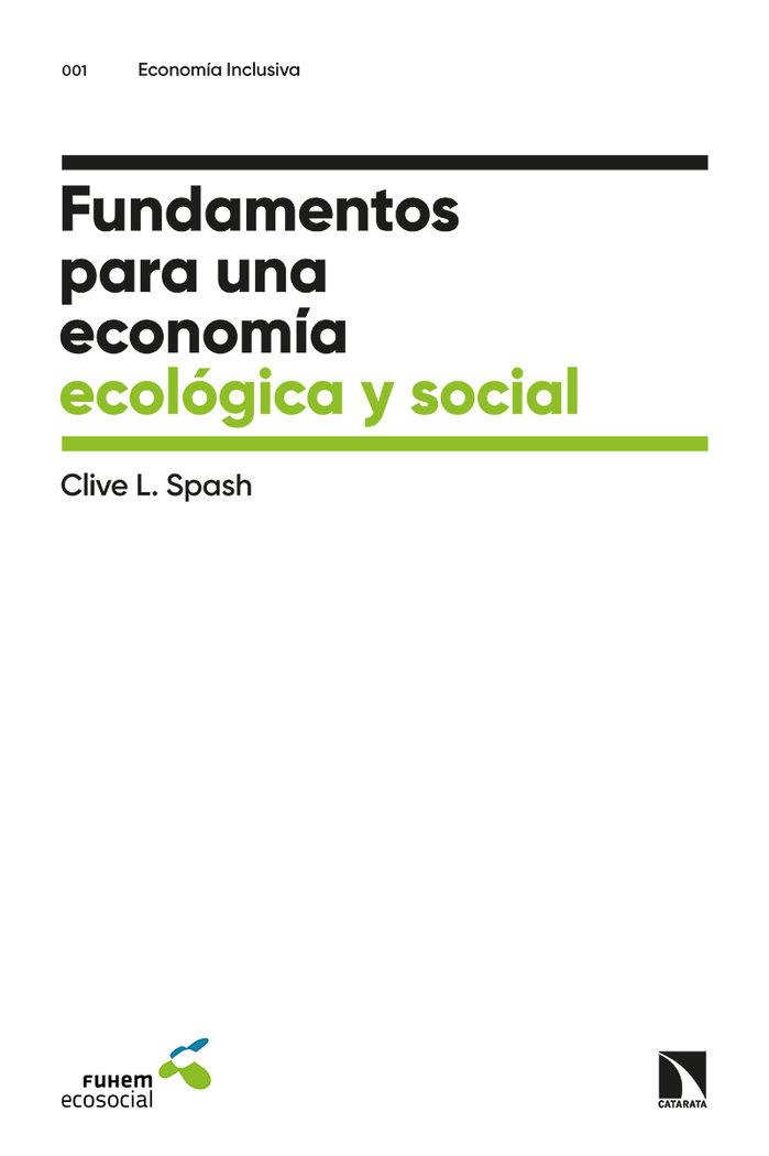 Fundamentos para una economia ecologica y social