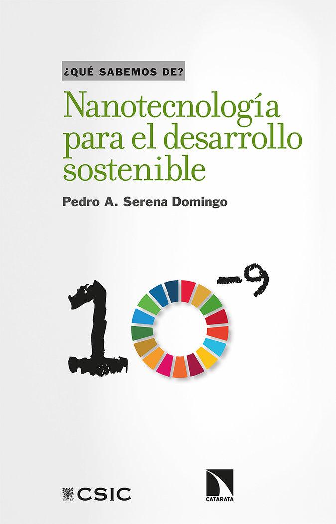 Nanotecnologia para el desarrollo sostenible
