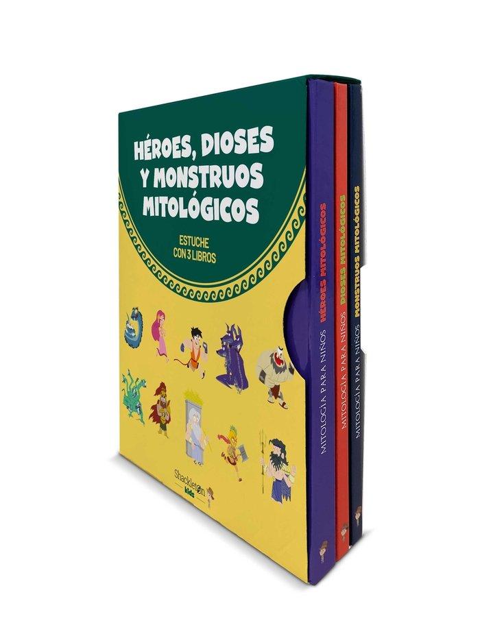 Heroes dioses y monstruos mitologicos