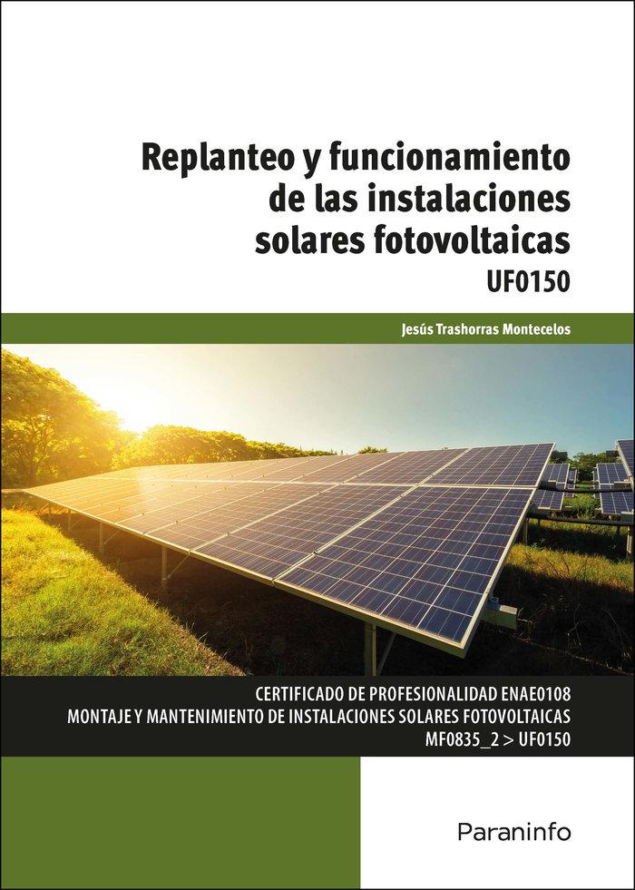 Replanteo y funcionamiento de las instalaciones solares foto