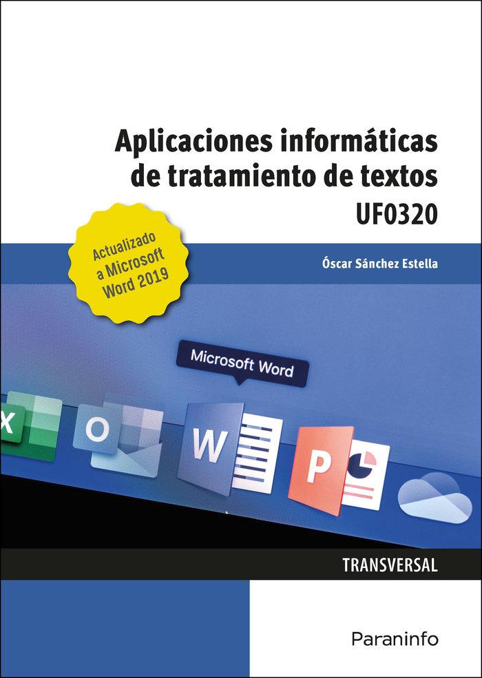 Aplicaciones informaticas de tratamiento de textos. microsof