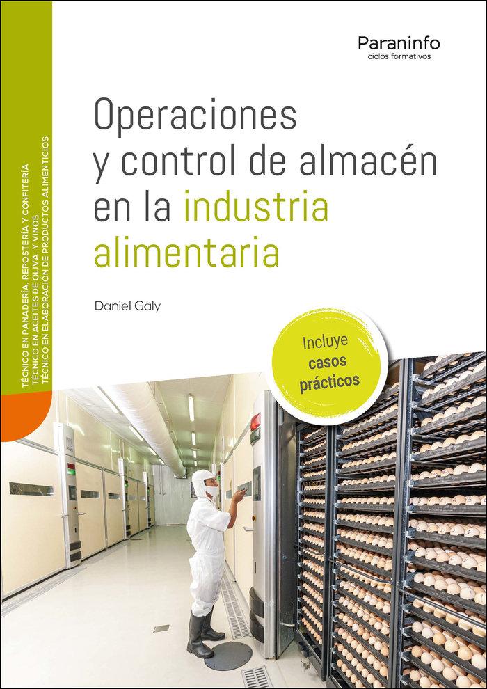 Operaciones y control de almacen en la industria a