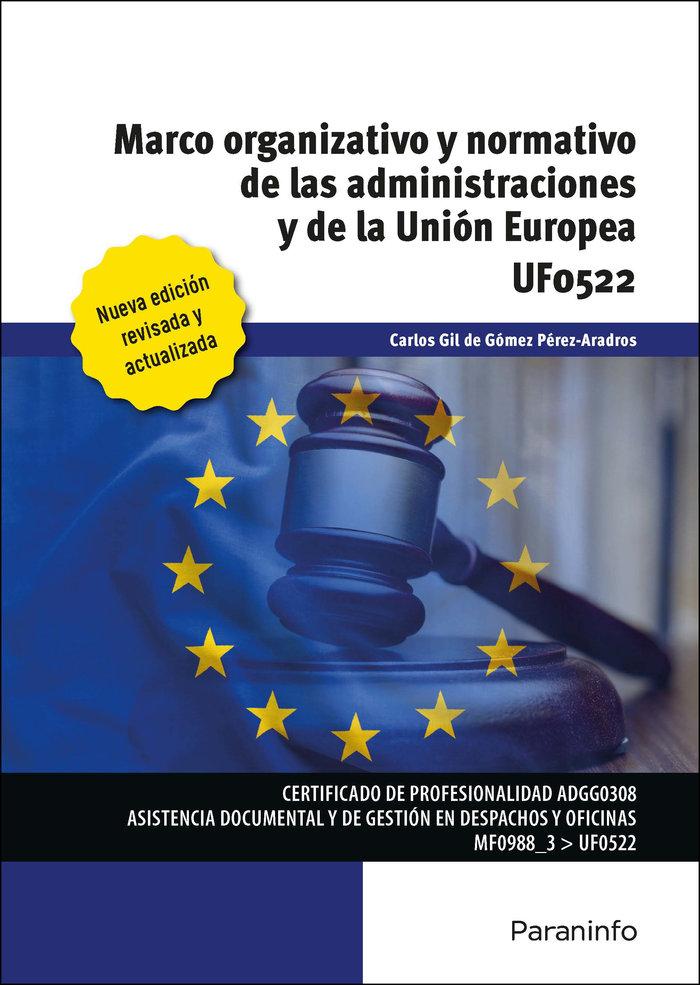 Marco organizativo y normativo de las administraciones publi