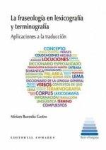 Fraseologia en lexicografia y terminografia