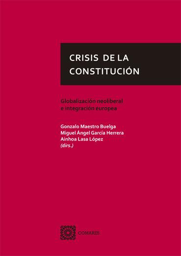 Crisis de la constitucion