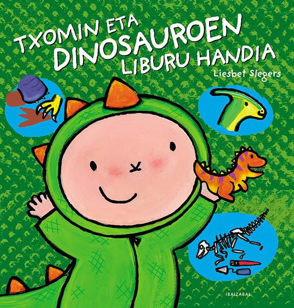 Txomin eta dinosauroen liburu handia euskera