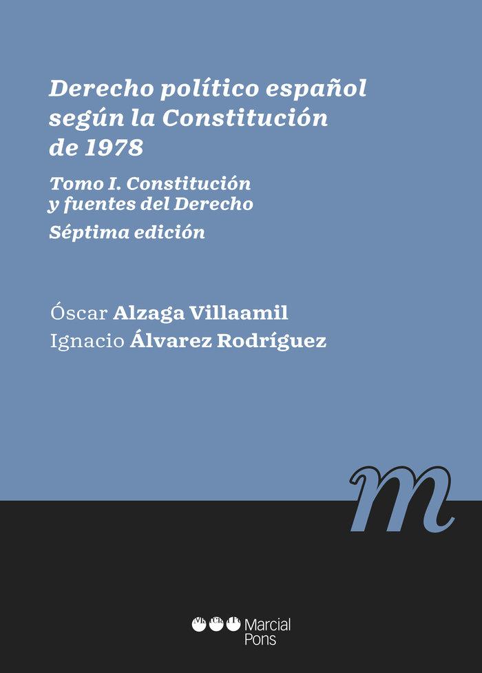 Derecho politico segun la constitucion de 1978
