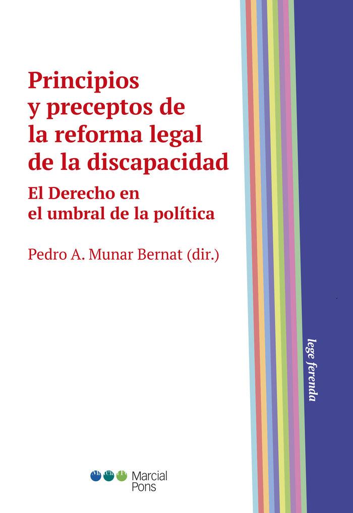 Principios y preceptos de la reforma legal de la discapacid