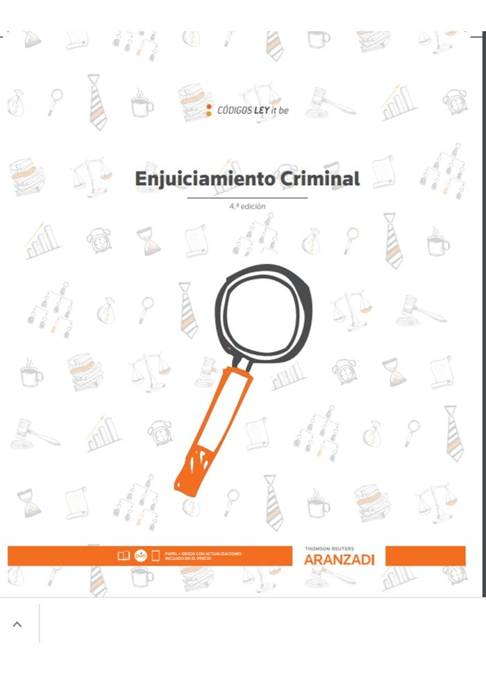 Enjuiciamiento criminal leyitbe