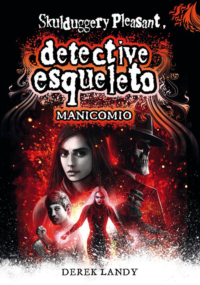 Detective esqueleto manicomio