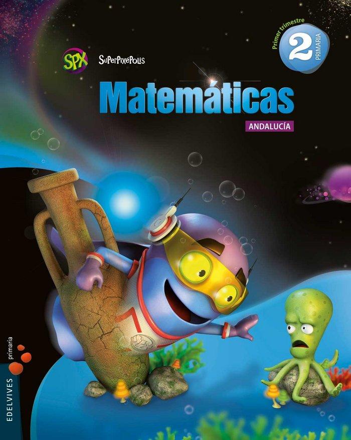 Matematicas 2ºep trimest.andalucia 15 superpixep.