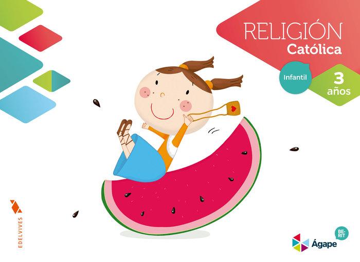 Religion 3años agape nuevo berit 16