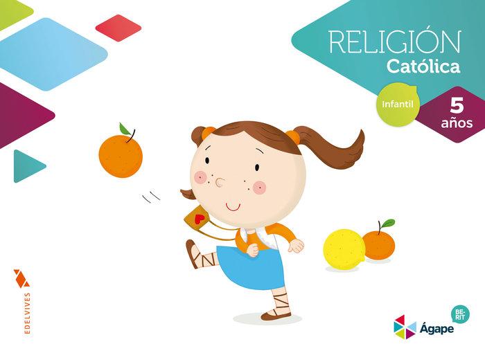 Religion 5años agape nuevo berit 16