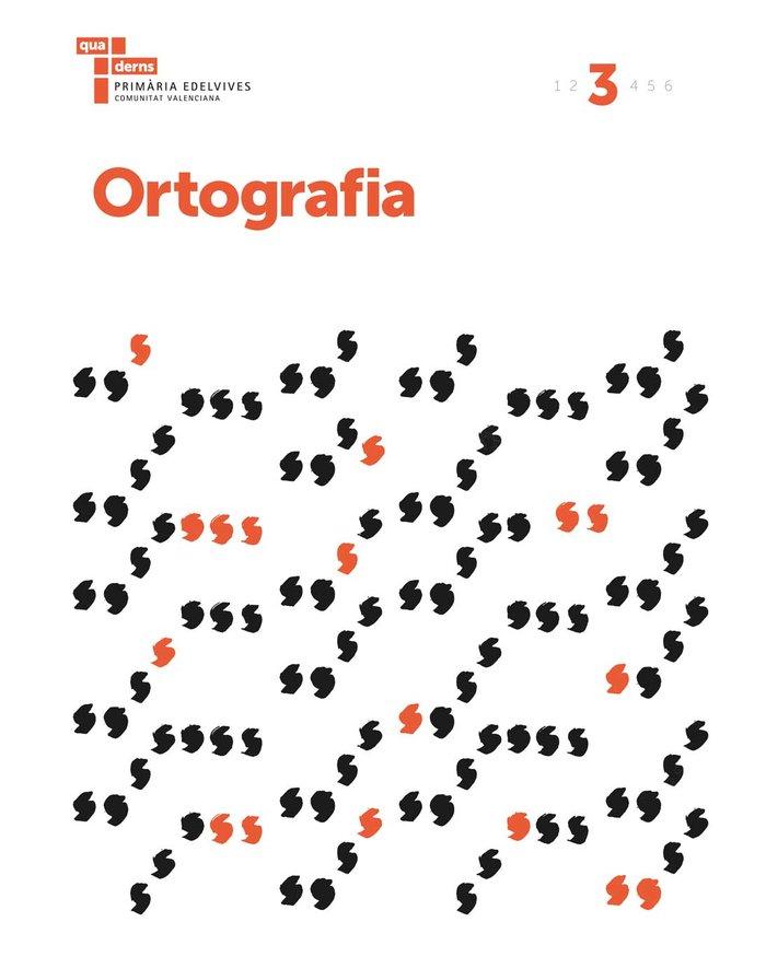 Quadern ortografia 3 ep c.valenciana 17