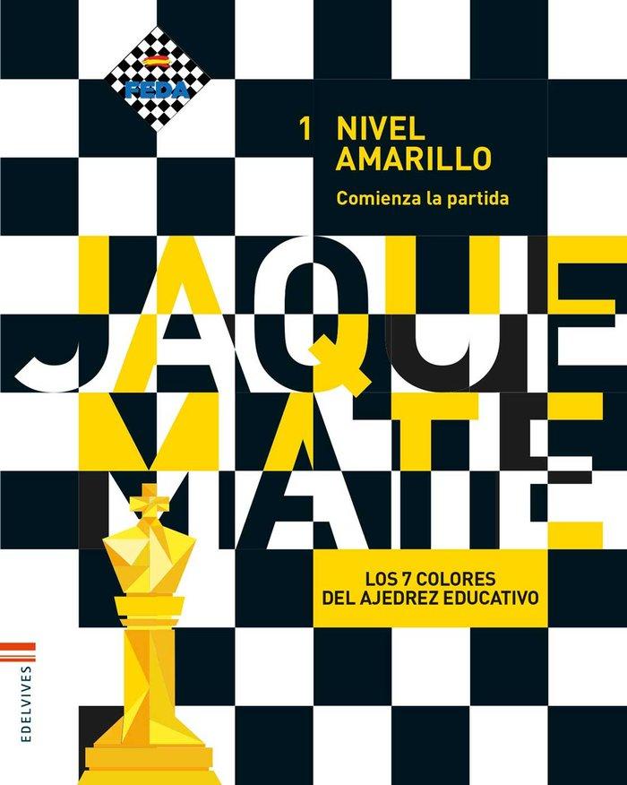 Cuaderno nivel amarillo 1 ep 17 juego ajedrez