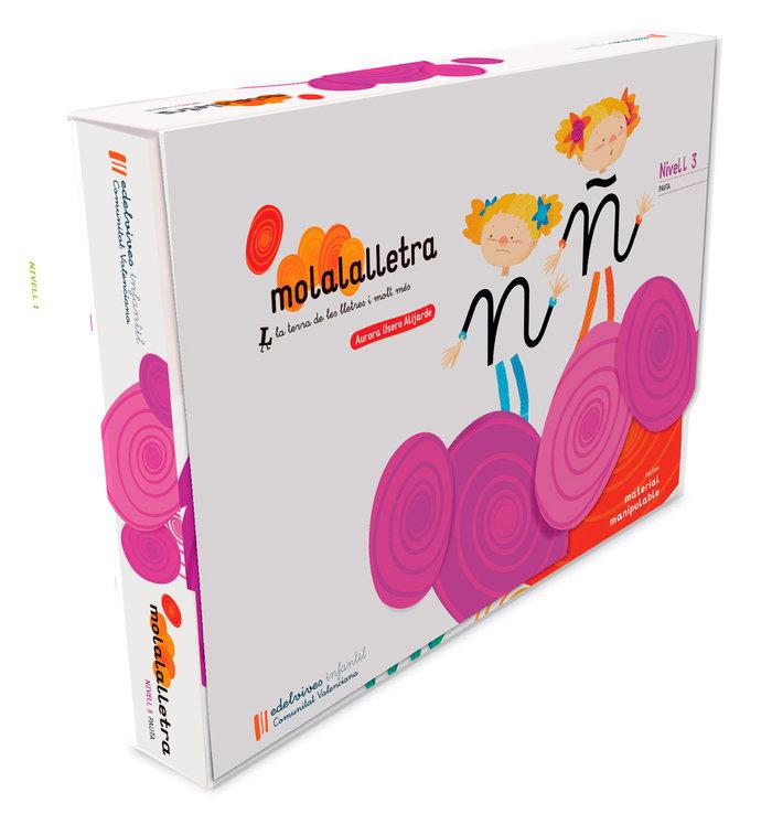 Molalalletra 3 5anys pauta c.valenciana 17 letrila