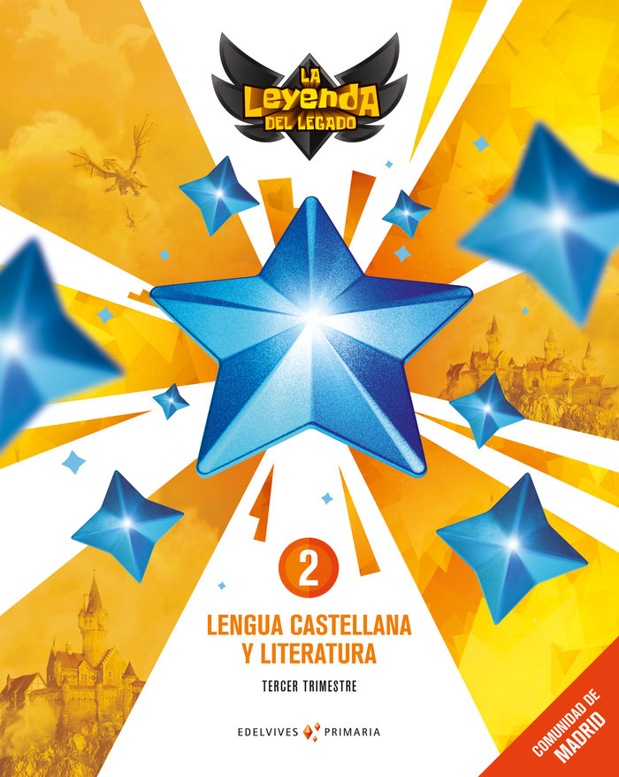 Lengua 2ºep trimestres madrid 18 leyenda legado
