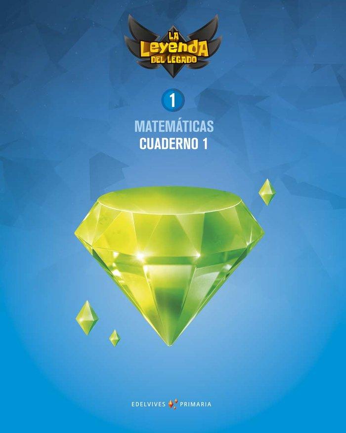 Cuaderno matematicas 1 1ºep 18 leyenda legado
