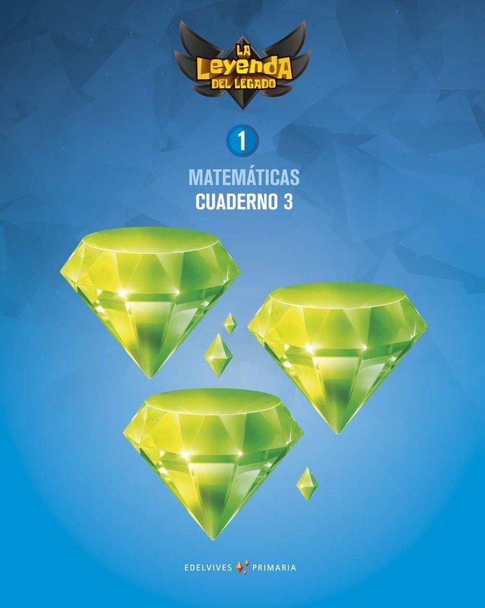 Cuaderno matematicas 3 1ºep 18 leyenda legado