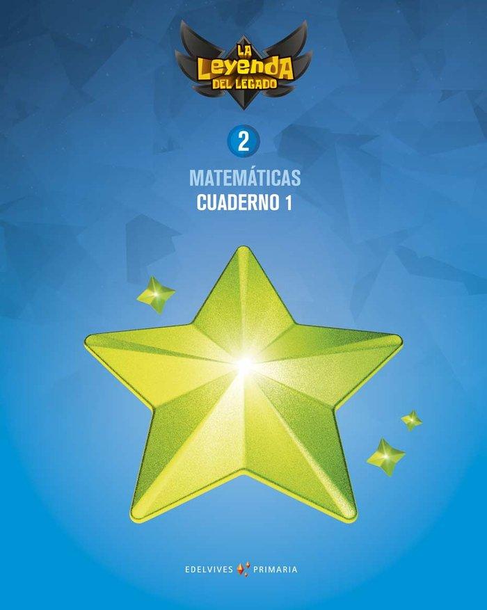 Cuaderno matematicas 1 2ºep 18 leyenda legado